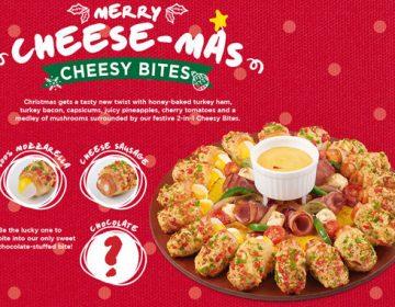 Pizza Hut e l'assurdità della Cheesy Bites Santa Supreme Pizza