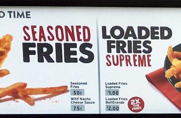 Taco Bell sperimenta... delle patatine fritte!