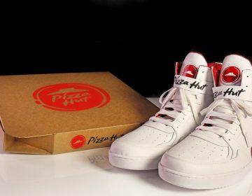 scarpe di Pizza Hut