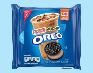 Dunkin' Donuts Mocha Oreo