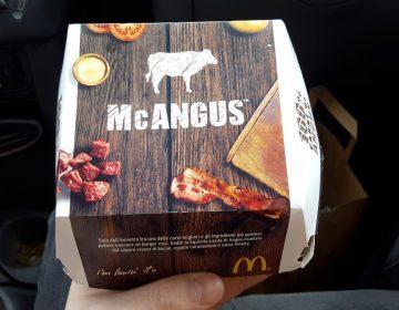 McAngus e Spicy Burger