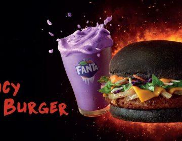 McDonald's Malesia e Spicy Korean Burger... nero!