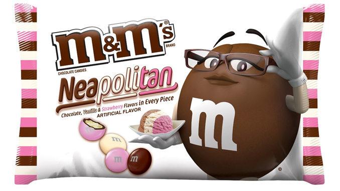 M&M's Neapolitan Ice Cream