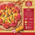 Pizza Hut Singapore e la nuova pizza con scaglie d'oro