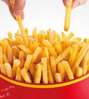 Il rimedio contro la calvizie? Le patatine del McDonald's!