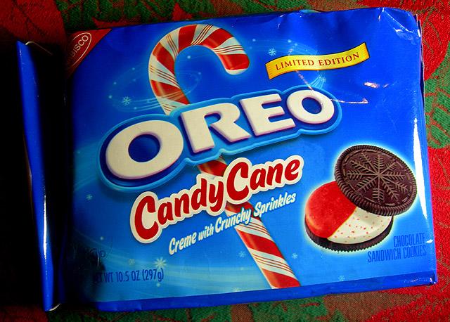 Oreo Mini Candy Cane: La limited edition di Natale