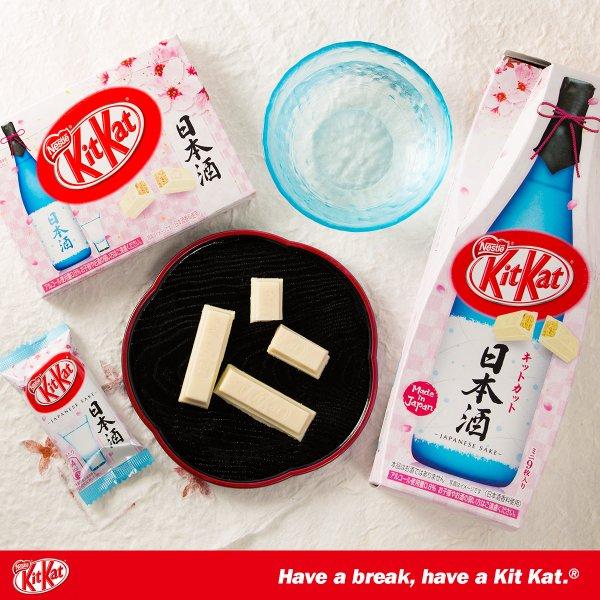 Nuovo Kit Kat al Sakè: il primo Kit Kat alcolico