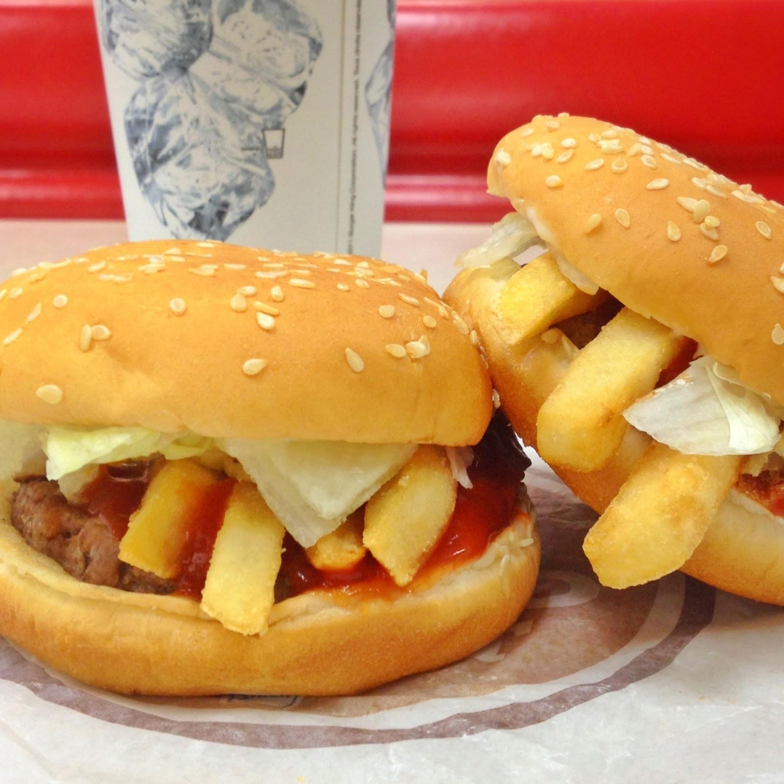 Burger King French Fry Burger: finalmente le patatine fritte dentro il panino!