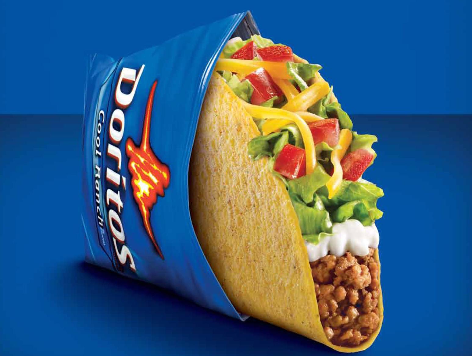 Taco Bell Cool Ranch Doritos Locos Tacos Supreme