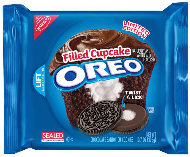 Nuova limited edition per Oreo: Ripieno al Cupcake