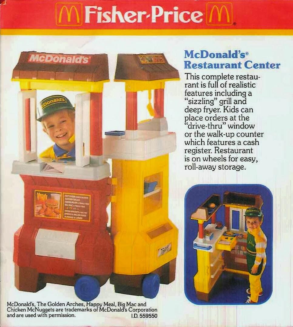 Quando la Fisher Price voleva i nostri figli perfetti lavoratori di McDonald's