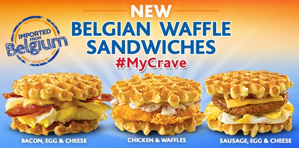 White Castle trasforma i Belgian Waffle in un panino