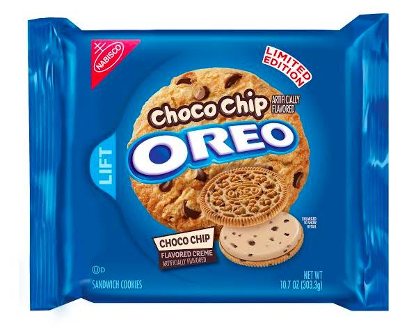 Oreo diventa Choco Chip per la nuova limited edition