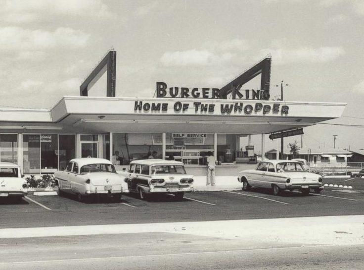 Come erano i Fast Food più famosi appena nati