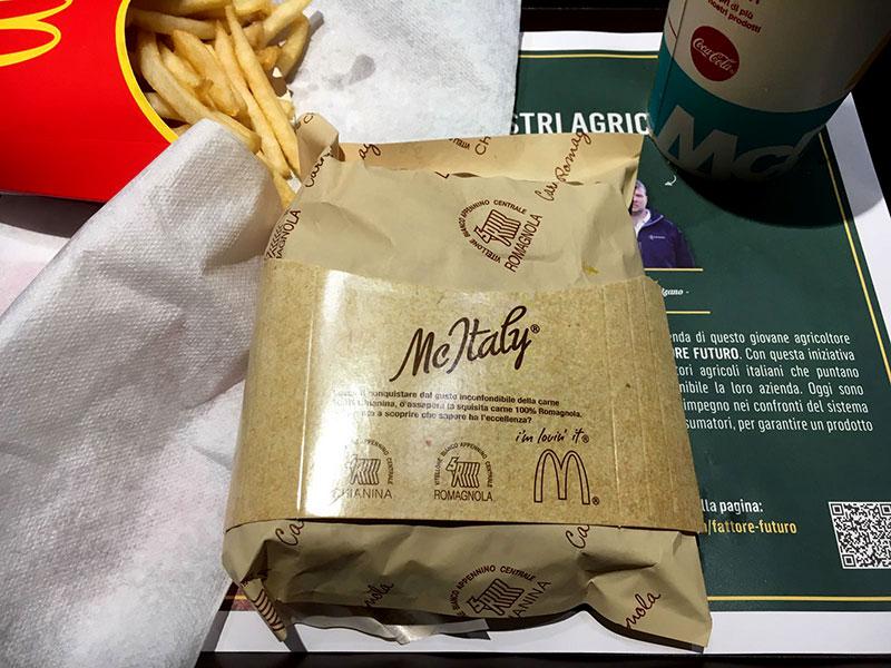 McItaly Chianina e Sweety con Nutella – Abbiamo provato i nuovi panini McDonald's al posto vostro