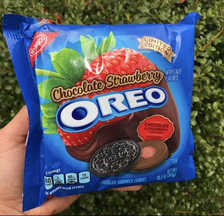 La perfezione dei nuovi Chocolate Strawberry Oreo