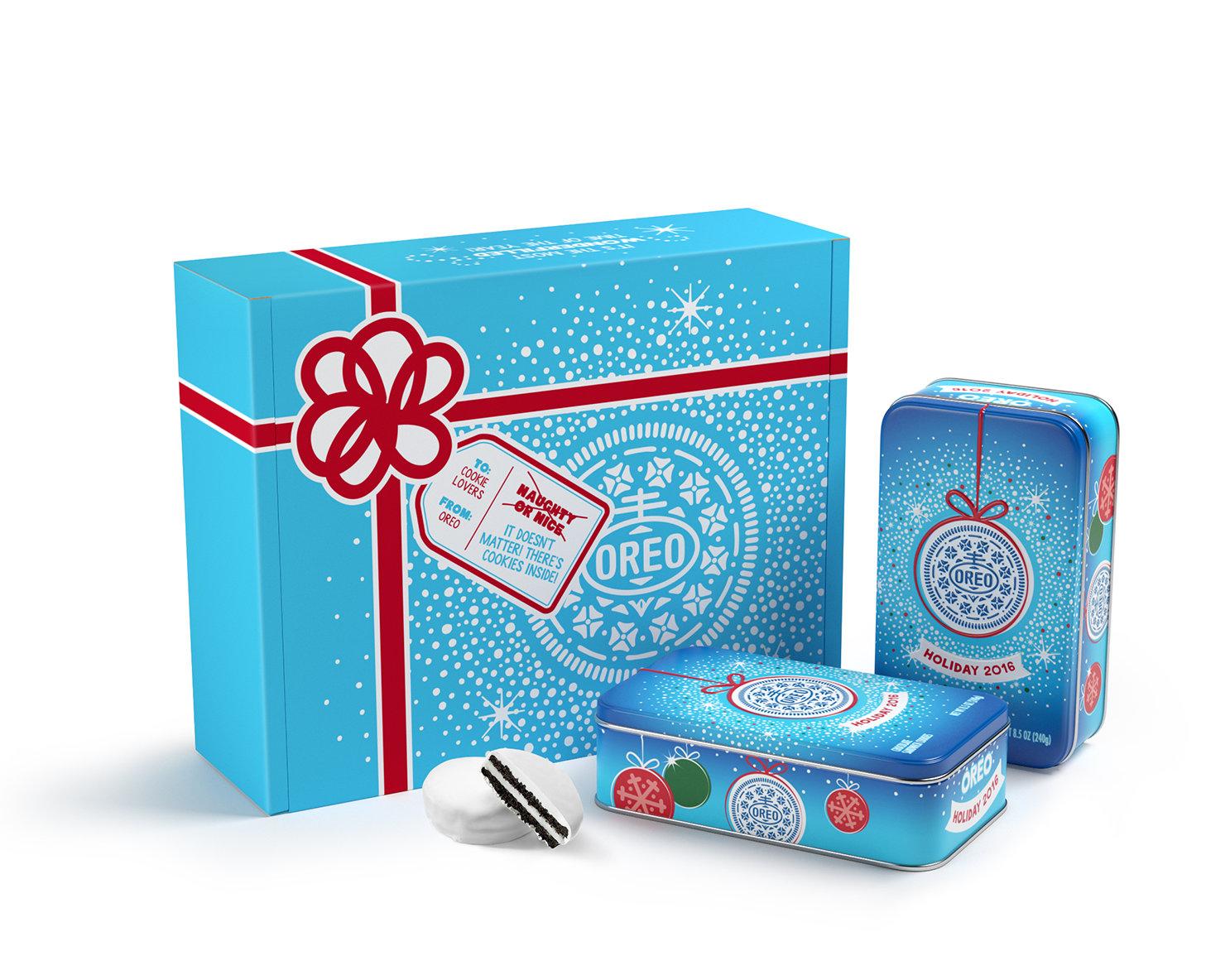 Arriva l'elegante Oreo gift box limited edition per Natale 2016