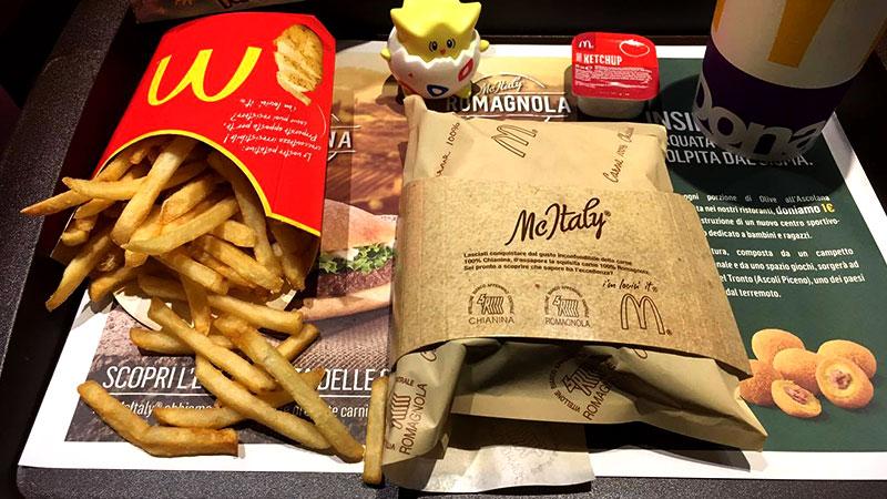 McItaly Romagnola – Abbiamo provato il nuovo panino McDonald's al posto vostro