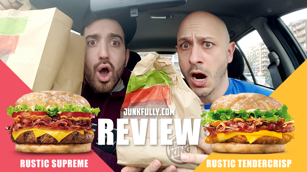 Rustic Supreme e Rustic Tendercrisp – Burger King Recensione