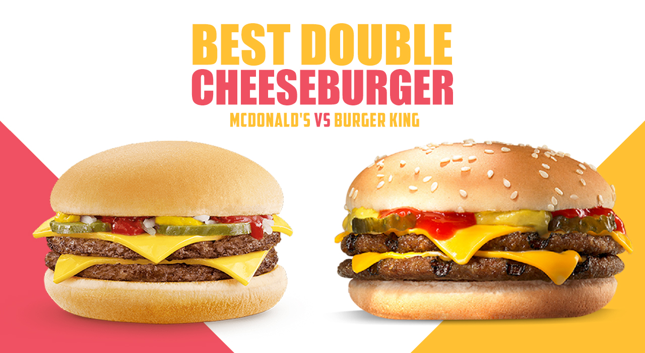 McDonald's vs Burger King – Miglior doppio Cheeseburger