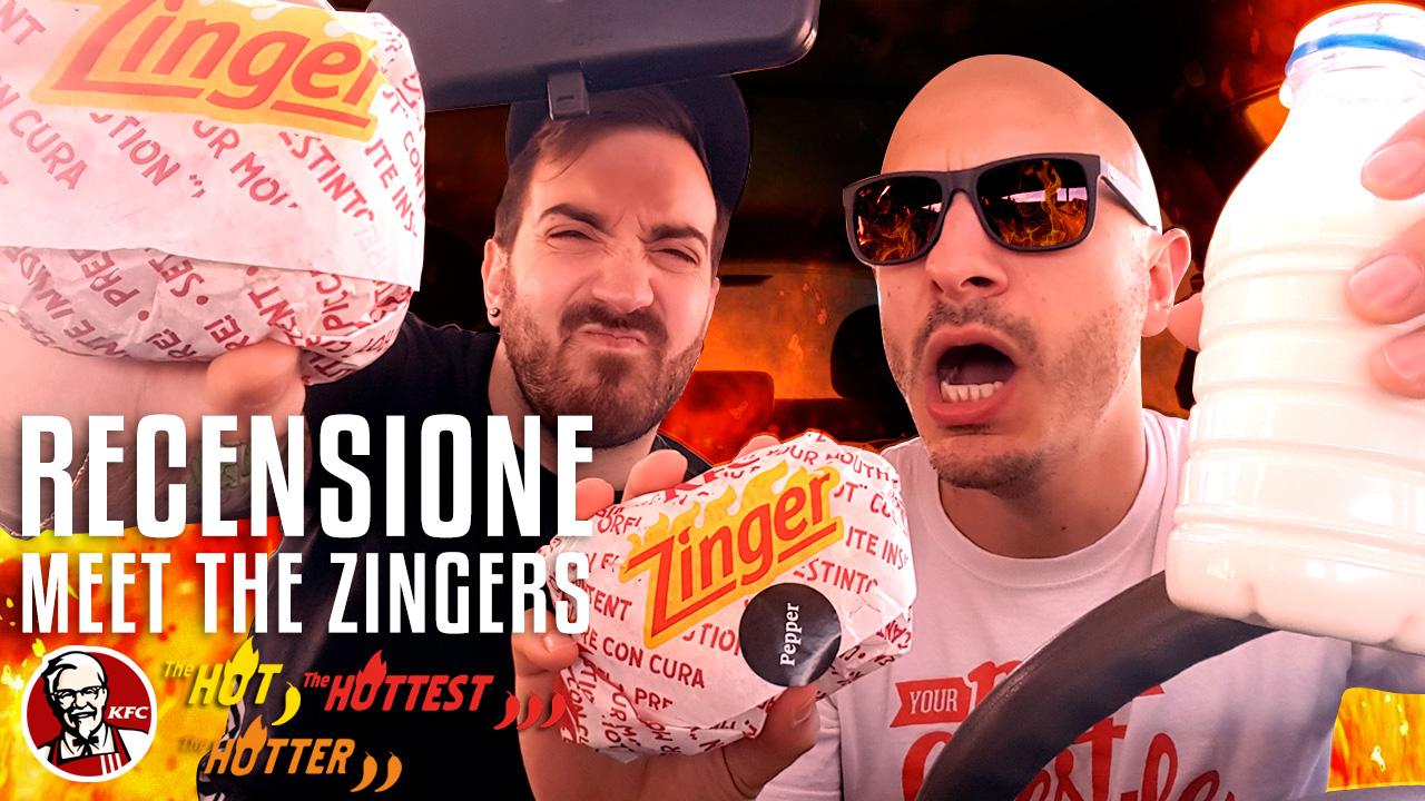 Meet the Zingers – Abbiamo provato i nuovi panini KFC al posto vostro