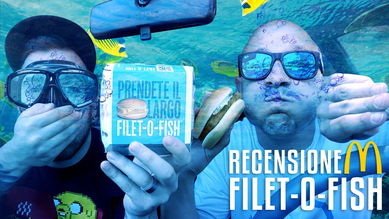 FILET-O-FISH aka il panino più bistrattato di sempre!