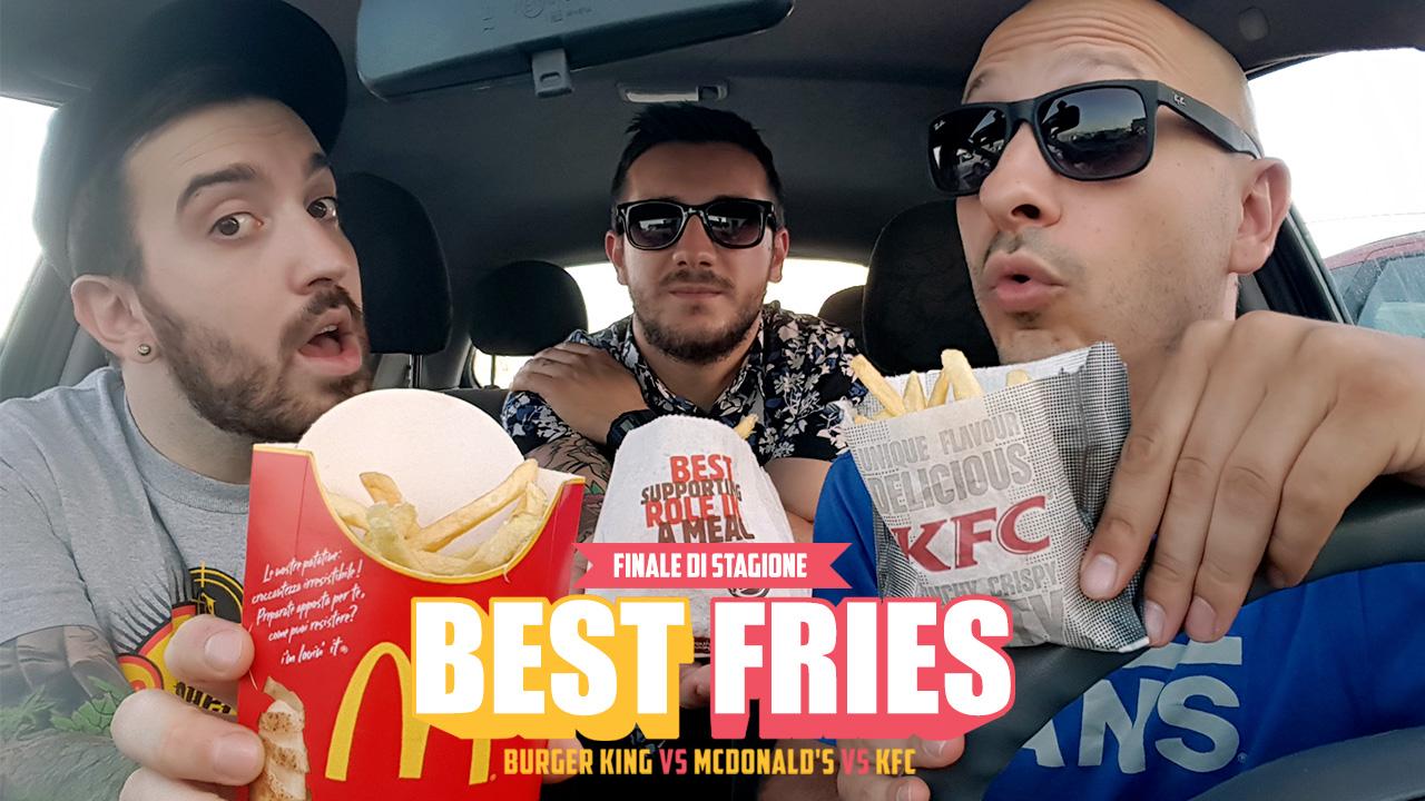 Burger King vs McDonald's vs KFC – MIGLIORI PATATINE FRITTE | feat. Pierg The Anthem