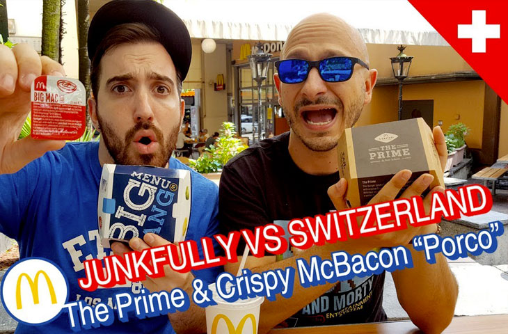Il clamoroso The Prime e la versione Svizzera del Crispy McBacon!
