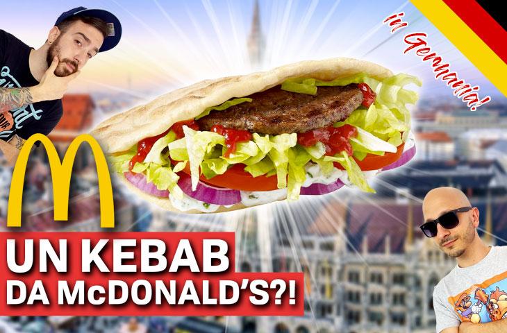 Un Kebab da McDonald's?! Proviamo il Pita Mac e il Guacamole Beef Ts