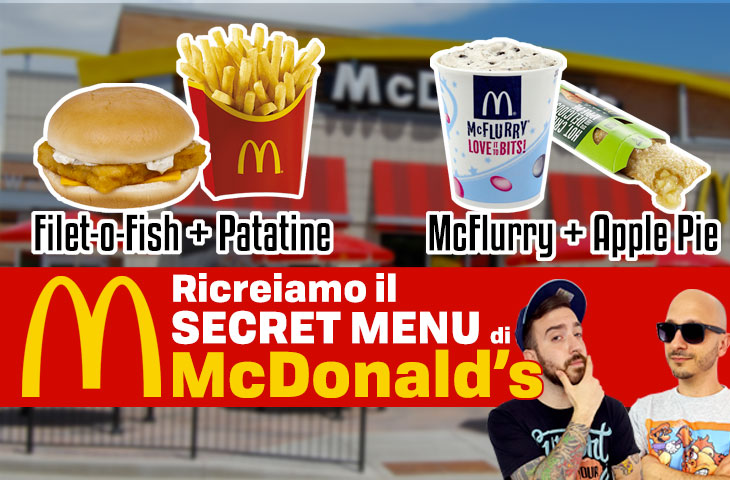 All American, il Mc Fish N'Chips e Apple Pie McFlurry – Secret Menù Episodio 2