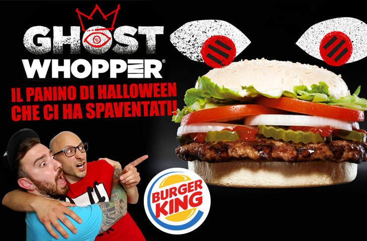 Proviamo il GHOST WHOPPER di BURGER KING!
