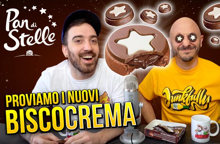 Assaggiamo i PAN DI STELLE BISCOCREMA!