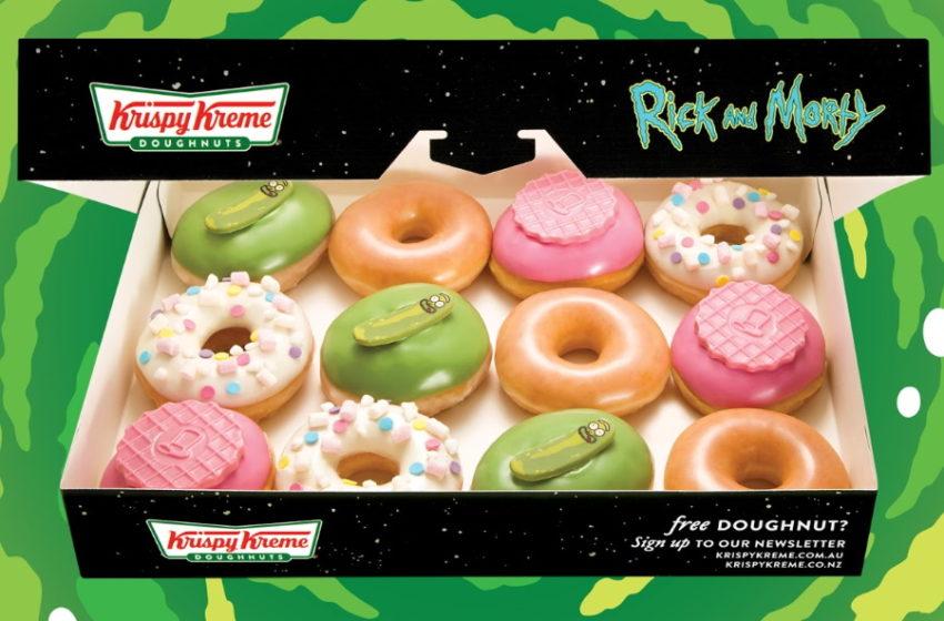 Krispy Kreme e le donuts di Rick and Morty