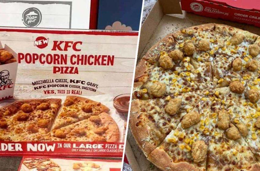 Una nuova collaborazione tra KFC e Pizza Hut!