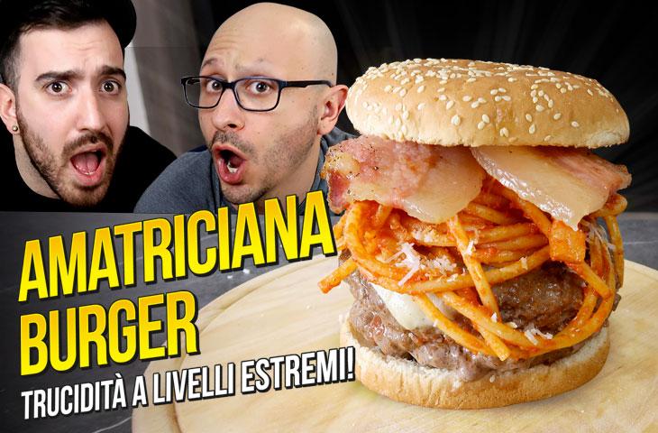 Ricetta Amatriciana Burger