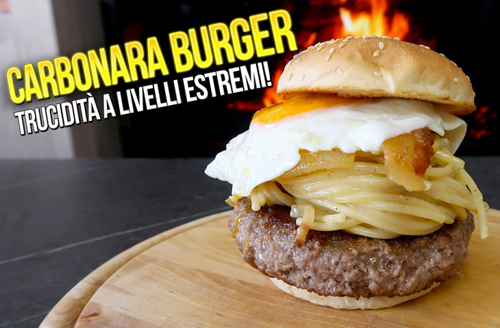 Ricetta Carbonara Burger