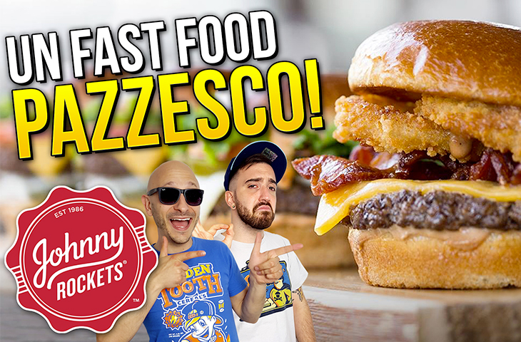 Un FAST FOOD PAZZESCO! Proviamo JOHNNY ROCKETS!