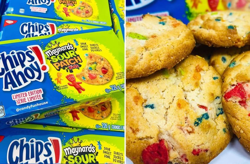 Il nuovo cookie di Chips Ahoy! e Sour Patch Kids