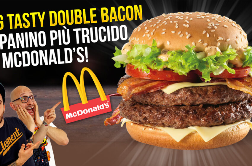 DOUBLE BIG TASTY BACON!
