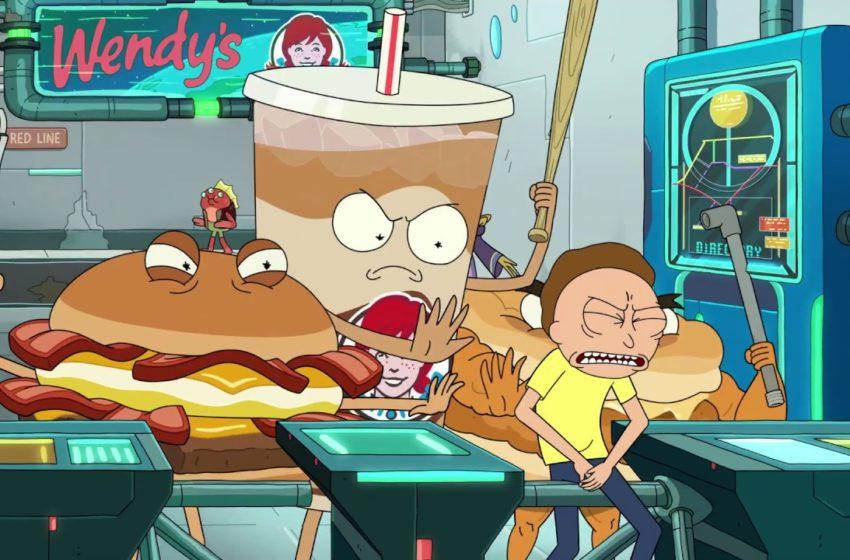 Rick & Morty protagonisti del nuovo spot di Wendy's!