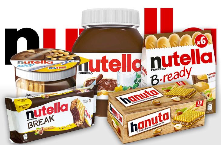 Gli snack Nutella più iconici