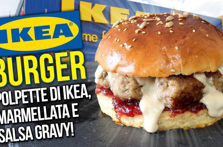 IKEA BURGER! La ricetta originale delle polpette di IKEA!