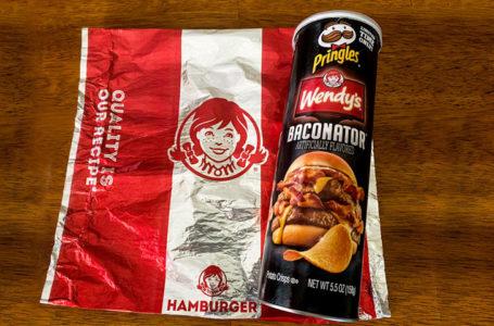 Le nuove Pringles Baconator di Wendy's!