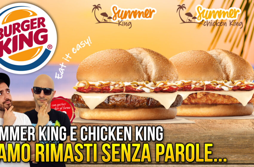 SUMMER KING di BURGER KING!