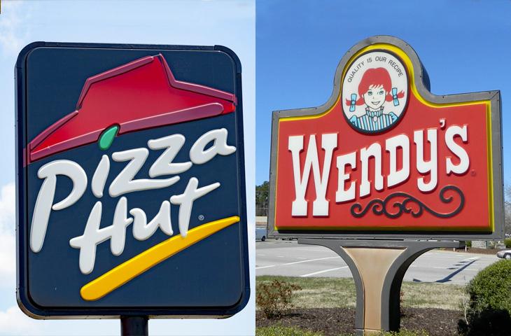 Pizza Hut e Wendy's dichiarano fallimento a causa del Corona Virus