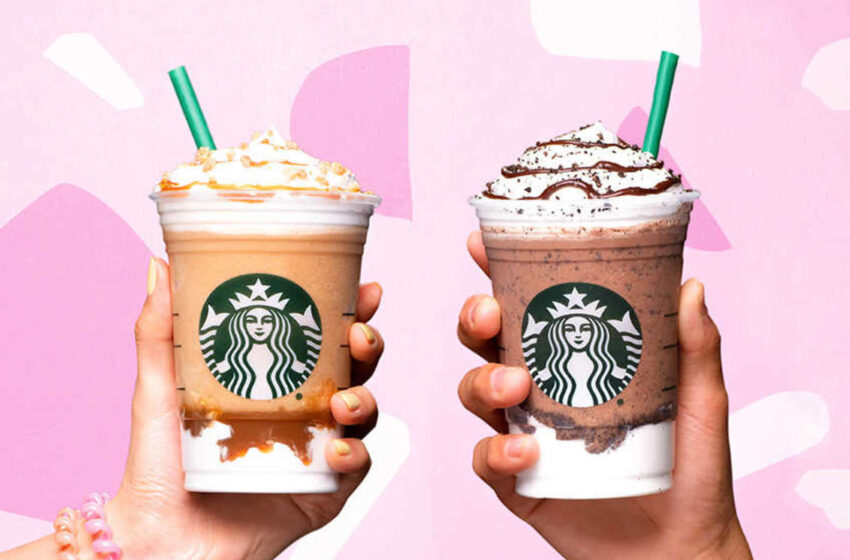 La classifica delle migliori bibite di Starbucks!