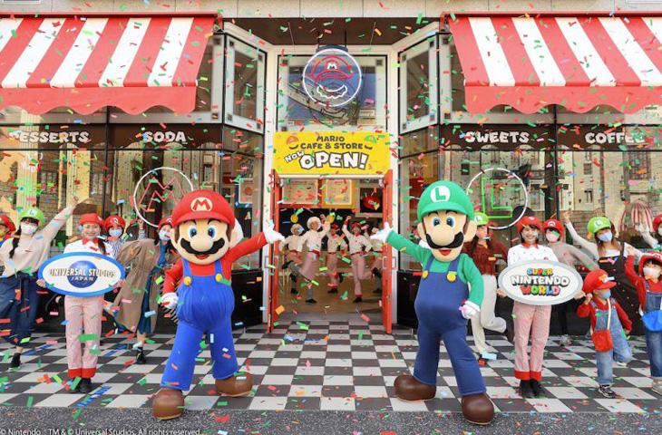 Universal Studios Giappone inaugura il suo Mario Café & Store!