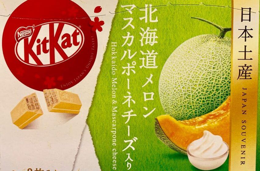 I Kit Kat più strani dal Giappone