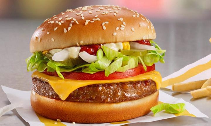 Il nuovo burger vegetale di McDonald's!