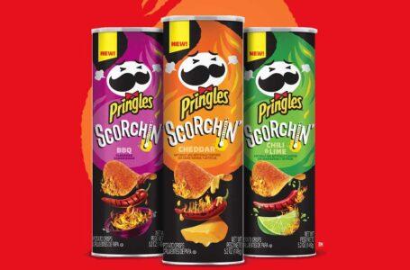 Le nuove Pringles Scorchin' roventi